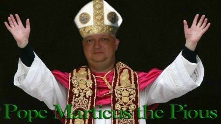 POPE MARTICUS THE PIOUS